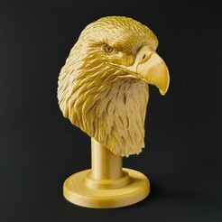 20210114_141805-01.jpeg Download STL file Bald Eagle • 3D printer model, SADDEXdesign