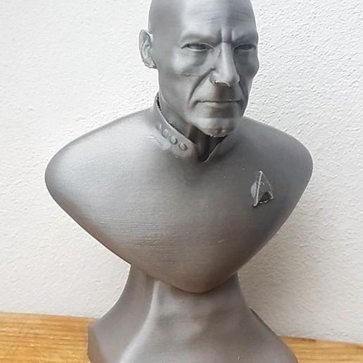 Download 3D model Captain Pickard , SADDEXdesign