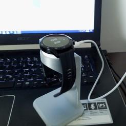 Descargar modelo 3D gratis El soporte del smartwatch Huawei GT2, SADDEXdesign