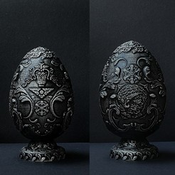 "Descargar Modelos 3D para imprimir gratis Huevo ""Fabergé"", SADDEXdesign"