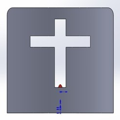 Download free 3D printer templates Cross Candle Holder, memoretirado
