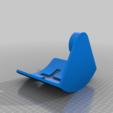 candelabro_de_cruz_2.png Download free STL file Cross Candle Holder  (one candle) • Design to 3D print, memoretirado