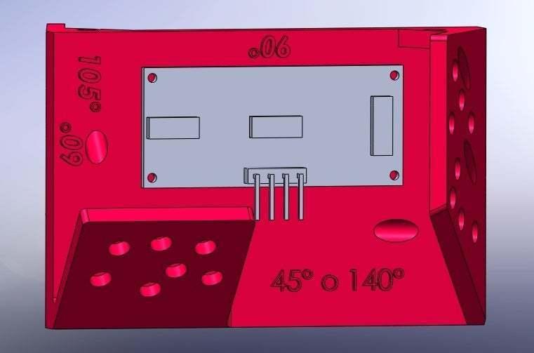 forma_de_poner_el_ping_2.jpg Download free STL file Mounting for HC SR04 Multi-Angle (40°,90°,140°,45°,135°,105°,120°, 75° and 60°) • 3D printer object, memoretirado