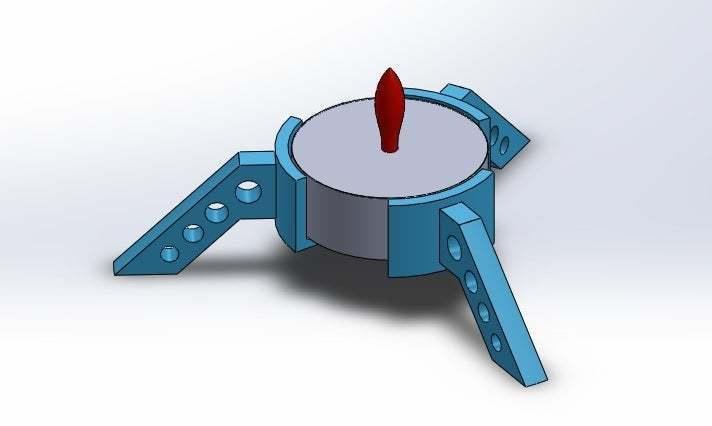 11.jpg Download free STL file Tea Light Holder • 3D printer object, memoretirado