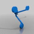 Download free STL file Pendulum Candle Holder (Pendulum Candle Holder for 3 tea lights) • Template to 3D print, memoretirado