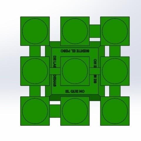 """sup sin velas.jpg Télécharger fichier STL gratuit Candélabre """"Prometheus"""" Réversible • Modèle imprimable en 3D, memoretirado"""
