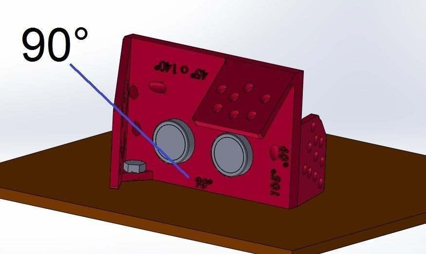 90_grados_con_frente_de_140.jpg Download free STL file Mounting for HC SR04 Multi-Angle (40°,90°,140°,45°,135°,105°,120°, 75° and 60°) • 3D printer object, memoretirado