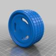 Télécharger fichier STL gratuit Jante calloquante à 3 rainures • Plan imprimable en 3D, memoretirado