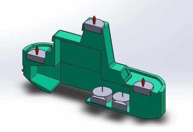 corte.jpg Download free STL file Maker Boat Candle Holder • 3D printer template, memoretirado