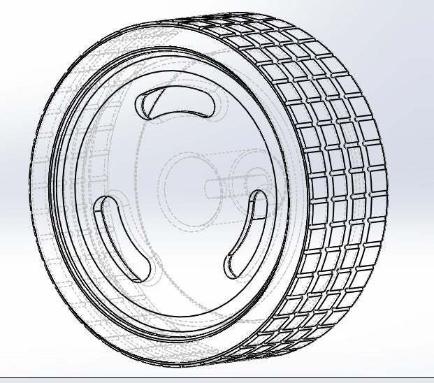 2.jpg Download free STL file 3 groove calloquial rim • 3D printer object, memoretirado