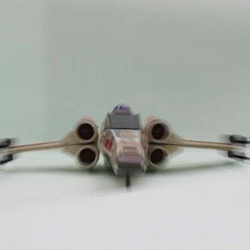 g.jpg Télécharger fichier STL gratuit X Wing Fighter  Cannon 1995 Tonka Star Wars Ship • Modèle à imprimer en 3D, memoretirado