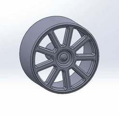 Download free STL file Smooth Wheel for Motor Reducer • 3D printable template, memoretirado
