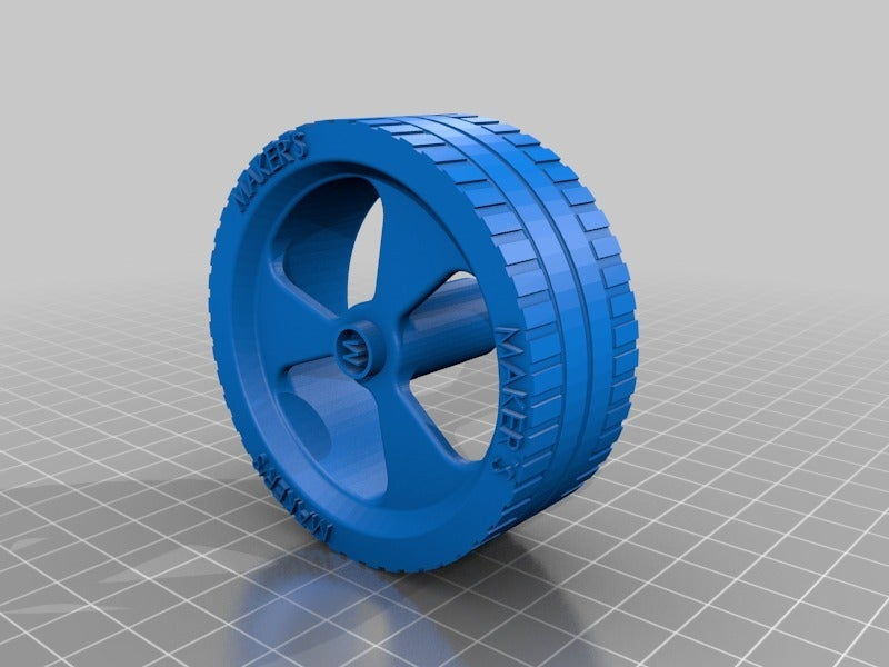 75dbc800d82655d72cc293fa63bcf879.png Download free STL file Maker's wheel for generic gearbox • 3D print object, memoretirado