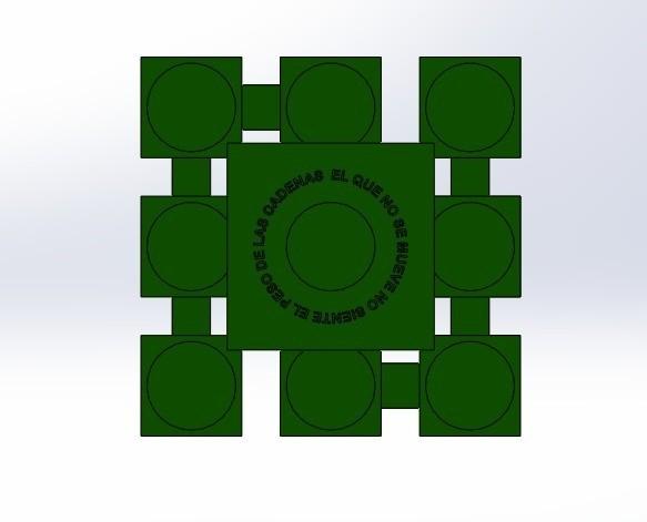 """inf sin velas.jpg Télécharger fichier STL gratuit Candélabre """"Prometheus"""" Réversible • Modèle imprimable en 3D, memoretirado"""