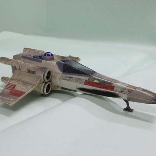 a.jpg Télécharger fichier STL gratuit X Wing Fighter  Cannon 1995 Tonka Star Wars Ship • Modèle à imprimer en 3D, memoretirado