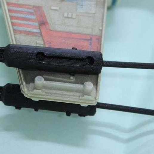 b.jpg Télécharger fichier STL gratuit X Wing Fighter  Cannon 1995 Tonka Star Wars Ship • Modèle à imprimer en 3D, memoretirado