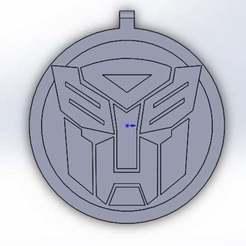 esfera_transforemers.jpg Download free STL file Transformers Christmas • 3D print model, memoretirado
