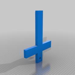 Cruz.png Télécharger fichier STL gratuit Croix de mur • Modèle imprimable en 3D, memoretirado