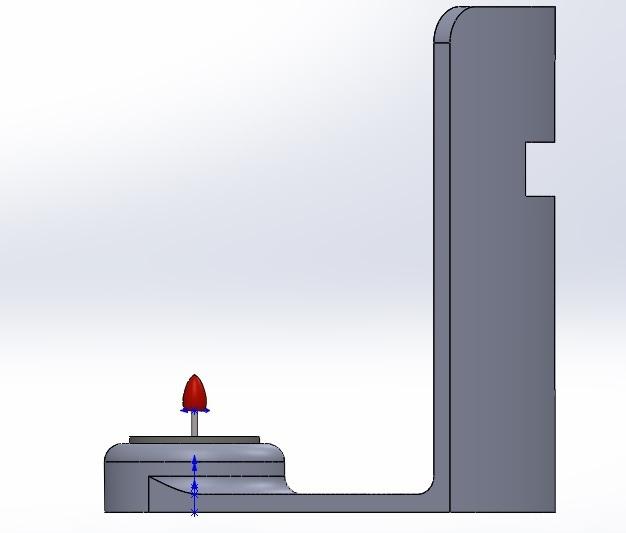 lateral.jpg Download free STL file Cross Candle Holder • 3D print object, memoretirado