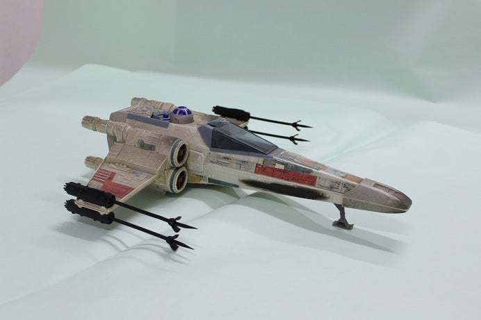 1.jpg Télécharger fichier STL gratuit X Wing Fighter  Cannon 1995 Tonka Star Wars Ship • Modèle à imprimer en 3D, memoretirado