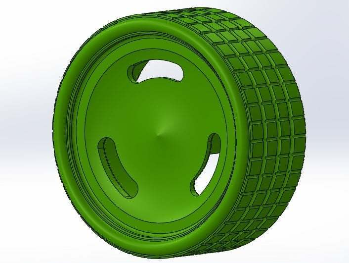 isometrico.jpg Download free STL file 3 groove calloquial rim • 3D printer object, memoretirado