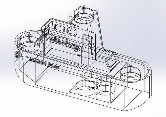 alambrico_2.jpg Download free STL file Maker Boat Candle Holder • 3D printer template, memoretirado