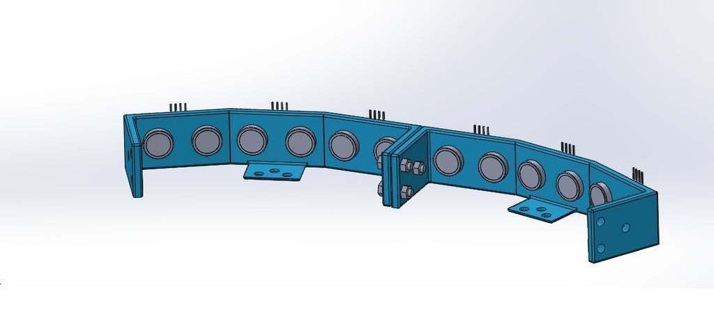 union_de_dos_en_lado_cóncavo.jpg Download free STL file Mounting for 3 HC SR04 15° sensors with 90° terminals • 3D printer design, memoretirado