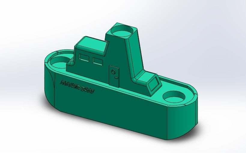 Sin_título.jpg Download free STL file Maker Boat Candle Holder • 3D printer template, memoretirado