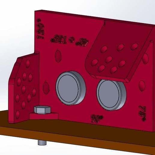90_grados_con_frente_de_1120.jpg Download free STL file Mounting for HC SR04 Multi-Angle (40°,90°,140°,45°,135°,105°,120°, 75° and 60°) • 3D printer object, memoretirado
