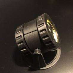 3d model Batman signal LED tea light, ponsmeister2