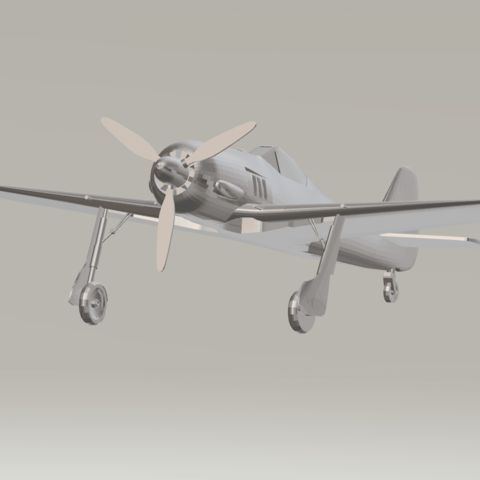 3D printer files FW-190, Vectre