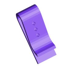 MONEY CLIP.png Télécharger fichier STL gratuit Clip d'Argent • Design pour impression 3D, 3DBuilder