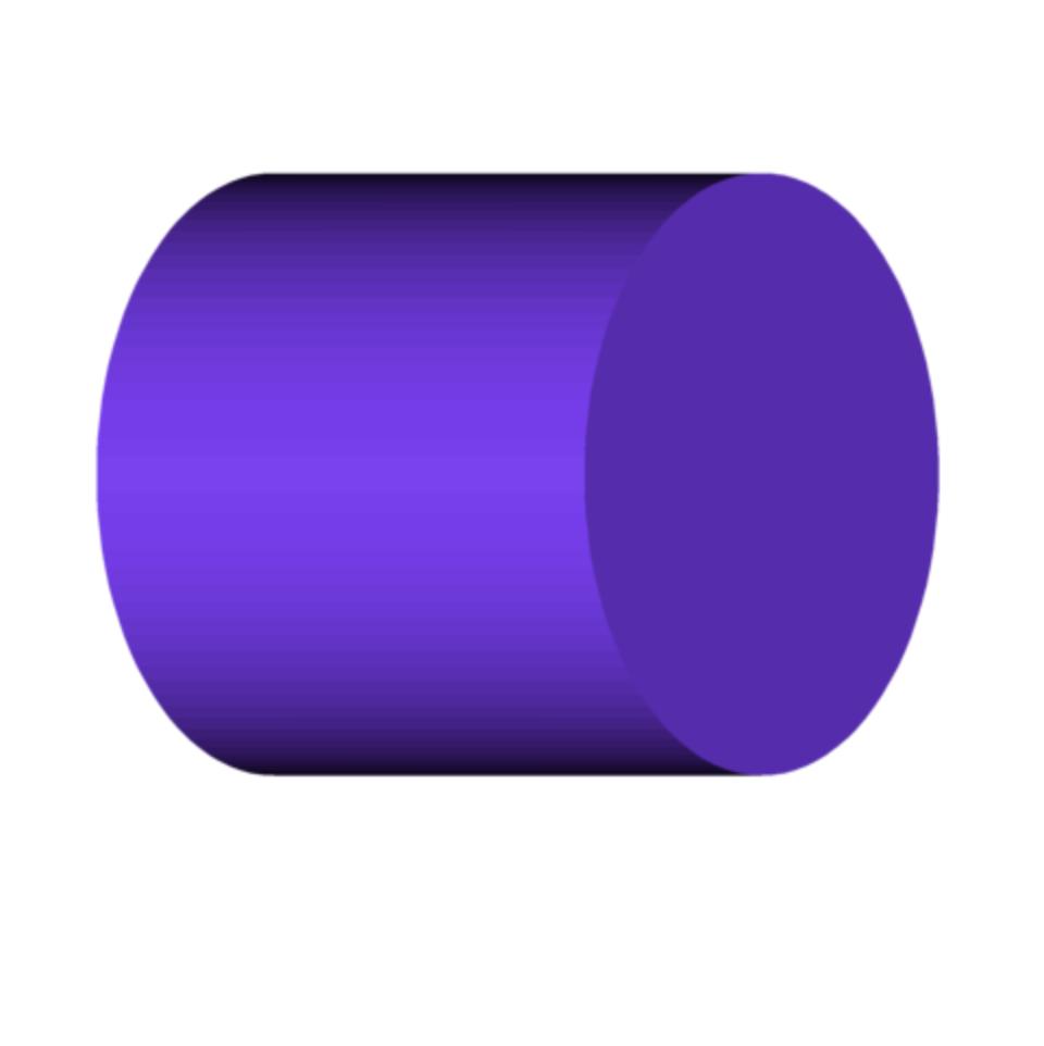 CYLINDER SHAPE.png Download free OBJ file Cylinder Shape • 3D print object, 3DBuilder