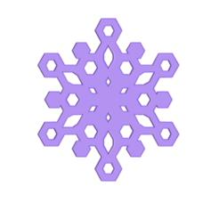 SNOWFLAKE.png Télécharger fichier STL gratuit Flocon de neige • Modèle imprimable en 3D, 3DBuilder