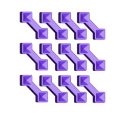 TRAIN TRACK CONNECTOR.png Télécharger fichier STL gratuit Connecteur de voie ferrée • Modèle imprimable en 3D, 3DBuilder