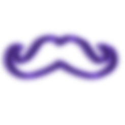 Moustache 1 Cookie Cutter.stl Download free STL file Moustache 1 Cookie Cutter • 3D print object, 3DBuilder