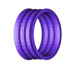 NAPKIN RING.png Télécharger fichier STL gratuit Rond de serviette • Design à imprimer en 3D, 3DBuilder