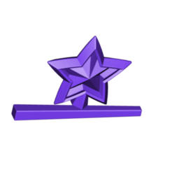 MAGIC WAND.png Télécharger fichier STL gratuit Baguette magique • Plan imprimable en 3D, 3DBuilder