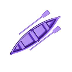 boat kayak.png Télécharger fichier STL gratuit Bateau • Modèle imprimable en 3D, 3DBuilder