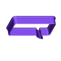 bubble comic coockie cutter.png Télécharger fichier STL gratuit Bubble 3 coupe-biscuits Word Bubble • Design imprimable en 3D, 3DBuilder