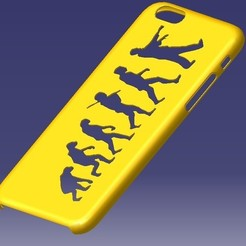 stl file iPhone 6S Evolution Case, eMBe85
