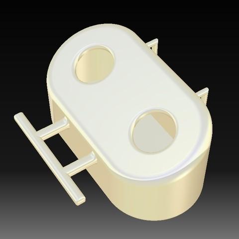k1.jpg Download STL file Bird feeder • 3D printer object, eMBe85