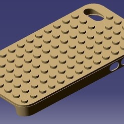 iPhone 4S Lego Case STL file, eMBe85