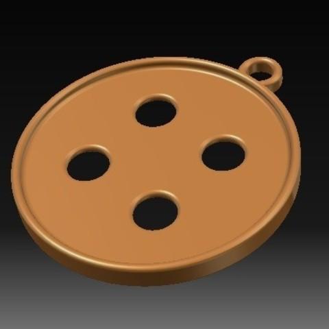 Download STL file Button Earrings • 3D print object, eMBe85