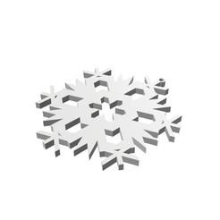 3d printer designs Christmas Snowflake Ornament_4, eMBe85