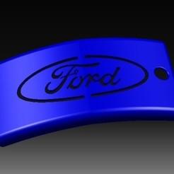 3D printer models Ford Keychain, eMBe85