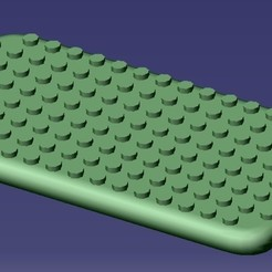 Download STL file iPhone 6S Lego Case • 3D print object, eMBe85
