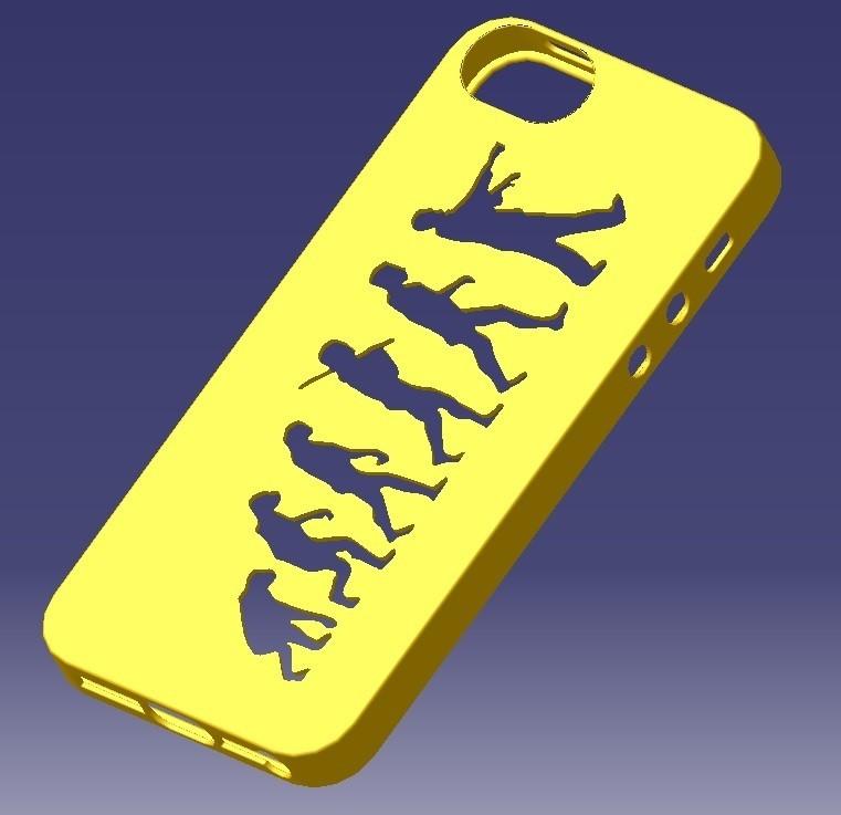 iPhone 5S Evolution Case.jpg Download STL file iPhone 5S Evolution Case • 3D printable design, eMBe85