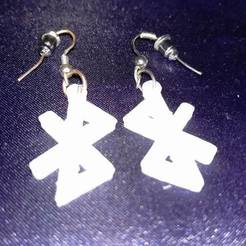 Download STL files Bluetooth Earrings, eMBe85