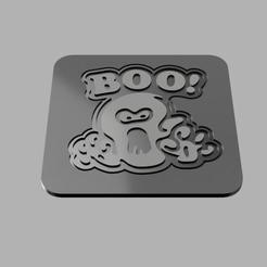 STL file Boo Cup Coaster, eMBe85